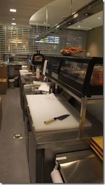 Back of sushi bar